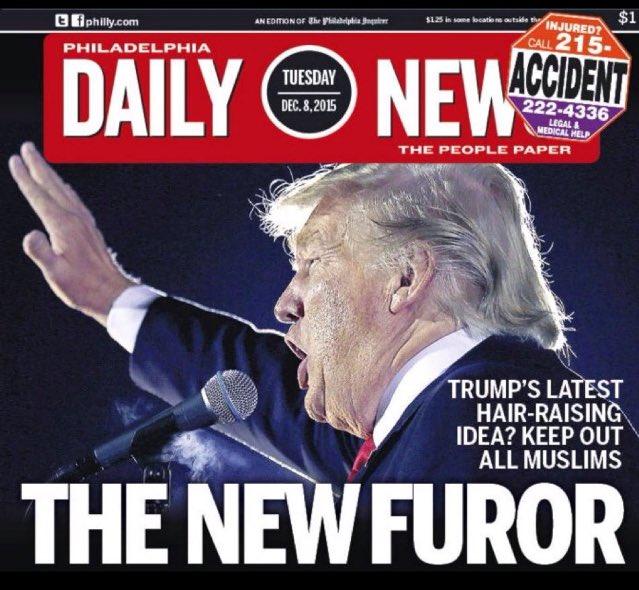 Philadelphia Daily News tok den like greit helt ut i dag. https://t.co/oHZ5SLFGNa