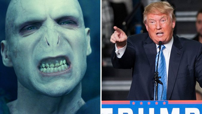 J.K. Rowling: Donald Trump Is Worse Than Voldemort