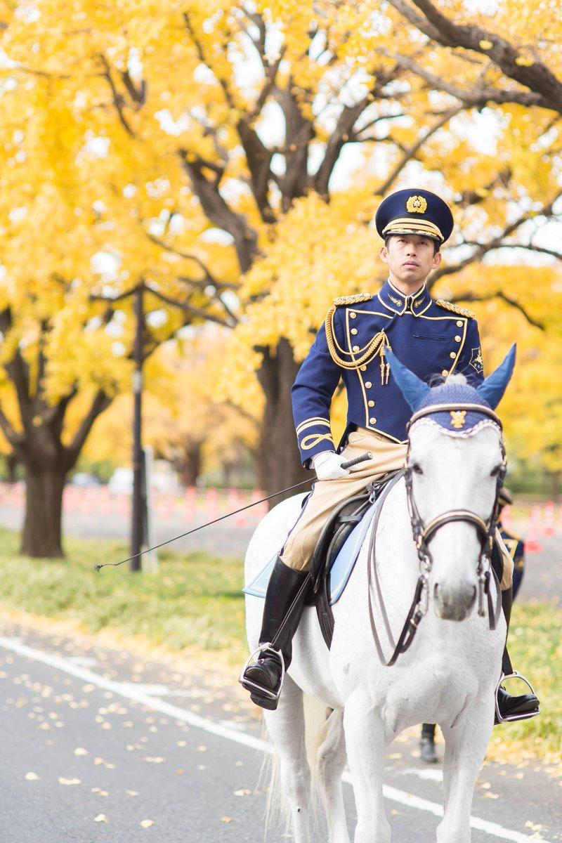 """白馬にまたがる""""警視庁騎馬隊""""がカッコよすぎるwww"""