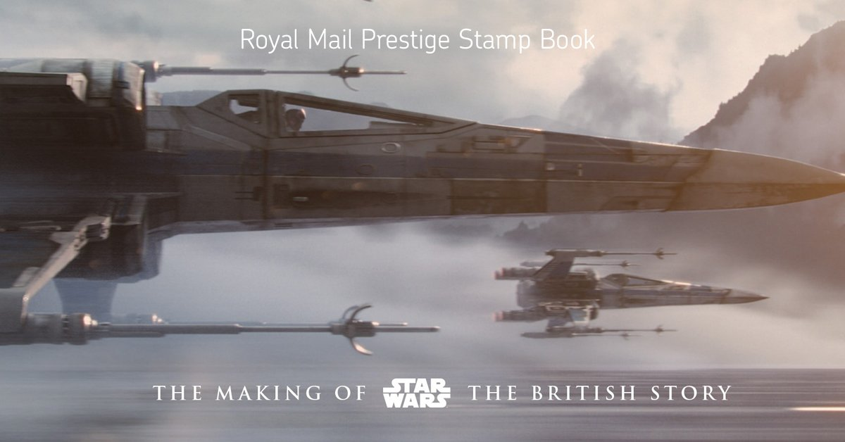 There's just one day left until #StarWars is released. RT & follow by 4pm to win a Prestige Stamp Book. UK only. https://t.co/mD55GUgAru