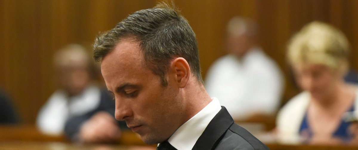 Oscar Pistorius released on bail of about $700 ahead of sentencing in girlfriend slaying.