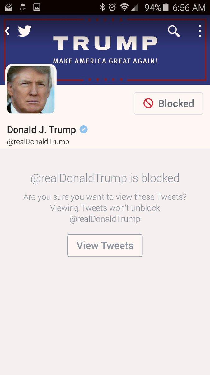 Let's make Trump the Most Blocked Person in America. #BlockTrump https://t.co/L5sZpToYxM