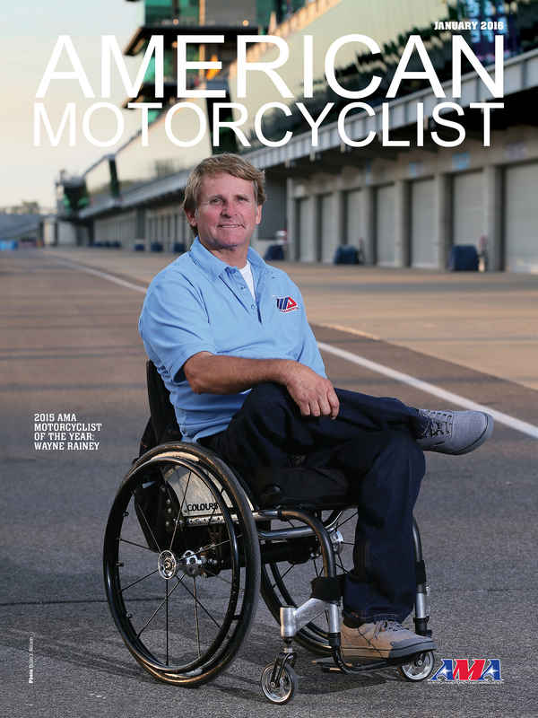 """""""Character and perseverance..."""" @WayneRainey60 named @ama_rights Motorcyclist of the Year. https://t.co/Ripb7vqzV8 https://t.co/2YvNOEBVkl"""