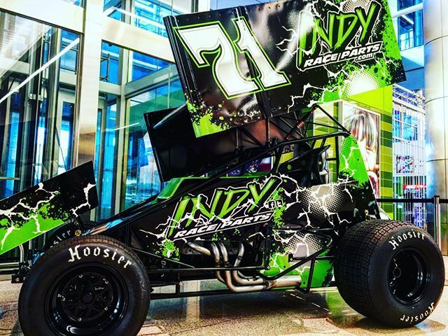 #PRIshow attendees have something to look forward to at IND! Stop by baggage claim to see this beauty. #pri2015 https://t.co/rTkzCyymDr
