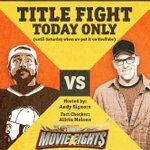 I'm a lover, not a fighter. But today, watch me throw hay-makers on @screenjunkies #MovieFights - LIVE at 4pm PST! https://t.co/BjPgK4YxfD