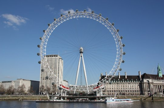 This city is so radicalised, they're going to rename this the London Eye-sis. #TrumpFacts https://t.co/Jt1LJC8KVi