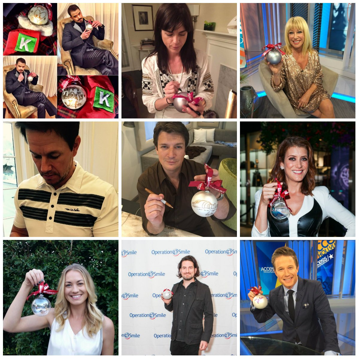 100% of the @balsamhill #celebritiesforsmiles ornament proceeds benefit @operationsmile! https://t.co/Ssy8OnnPMU https://t.co/WYR7wK7sCx