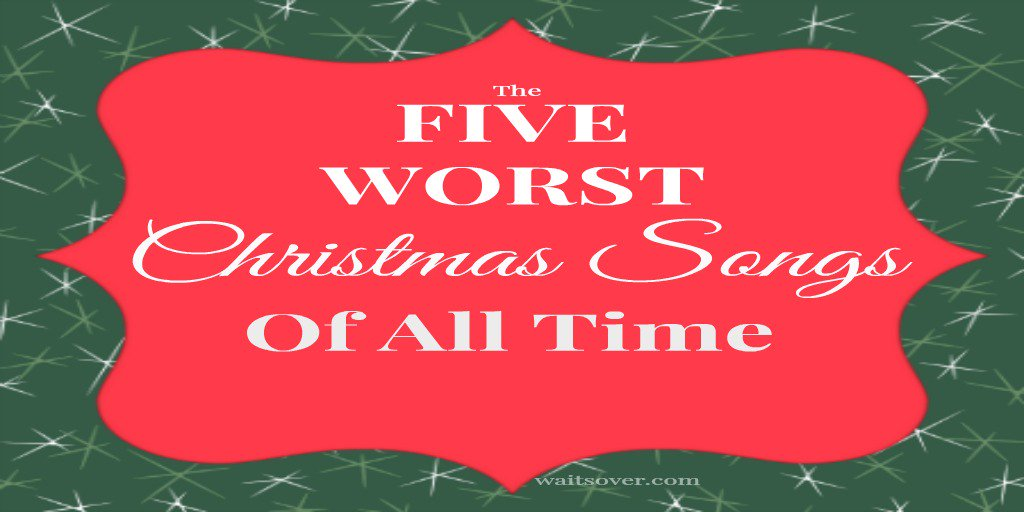 Love Christmas Song?  NOT THESE! The 5 Worst Christmas Songs OF ALL TIME! https://t.co/jIXvbbWpRT https://t.co/N7Z0yd5XWZ