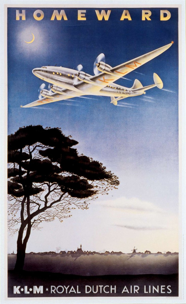 Here are the stories behind some of our greatest @KLM posters.