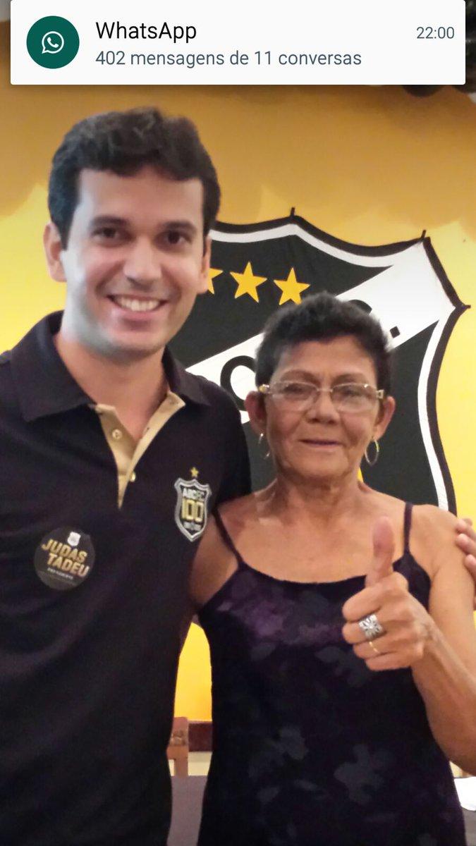 Eu e Deusinha estamos Com Tadeu!! #ToComTadeu #Voto10 https://t.co/dCKzLzyJTV