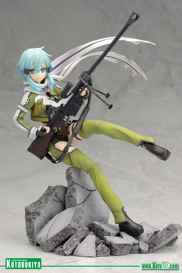 ✨ FLASH CONTEST ✨  Sinon -Phantom Bullet- SAO Statue by @koto_official might be YOURS! ♡ & RT for a chance to win! https://t.co/oPAw8hbyLt