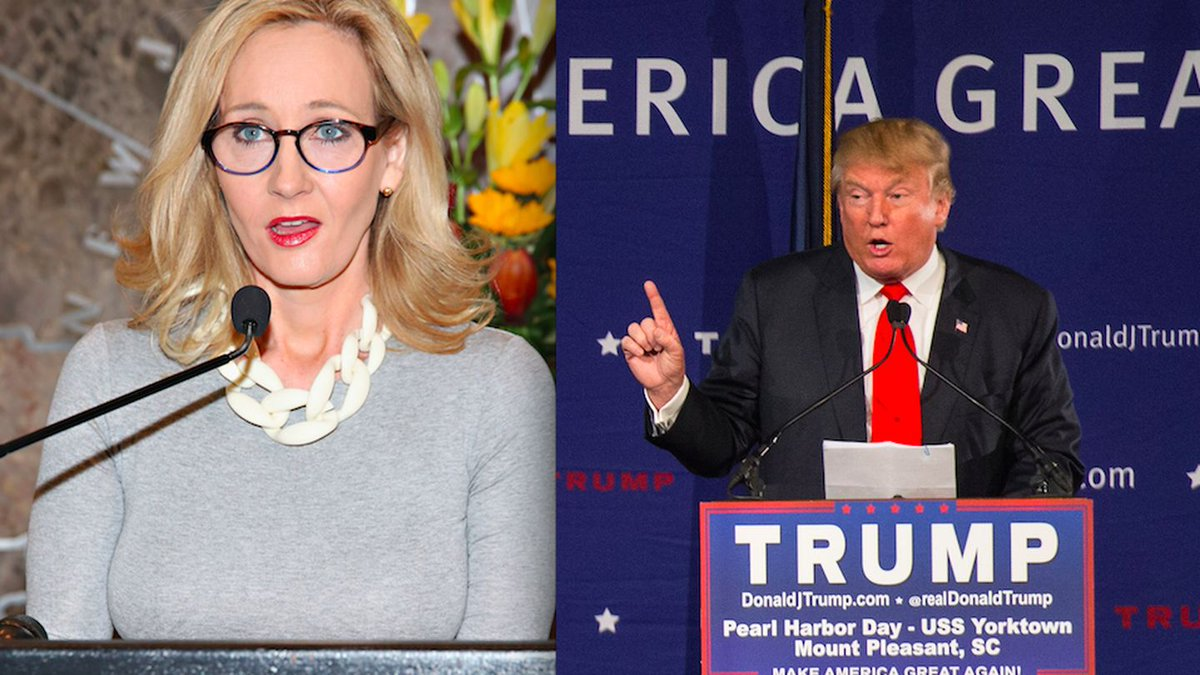 J.K. Rowling Says Trump Is Worse Than 'He Who Shall Not Be Named'
