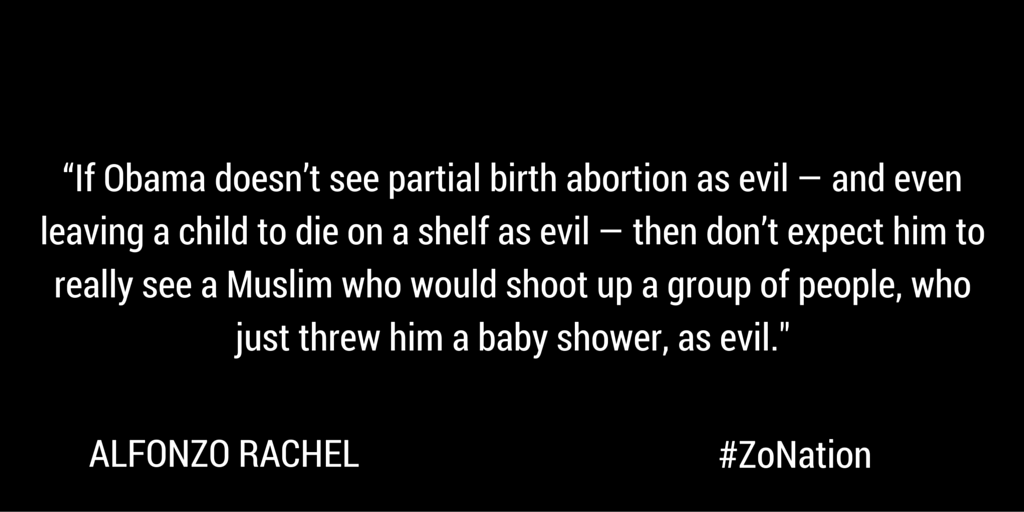 Liberals WON'T identify the evil.   @AlfonZoRachel WILL.  WATCH: https://t.co/Dusu9FTIab https://t.co/xzQsWiDqr7