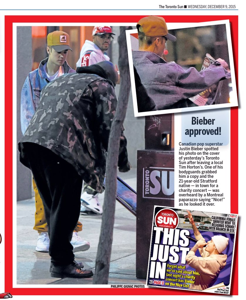 #BREAKING Young person buys print copy of a newspaper (Thanks @justinbieber) https://t.co/tYWvrDsdgl