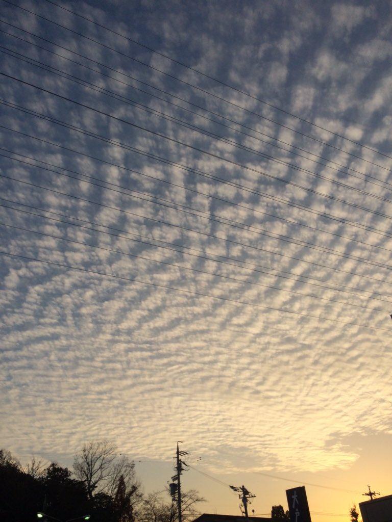 東日本大震災 地震雲画像