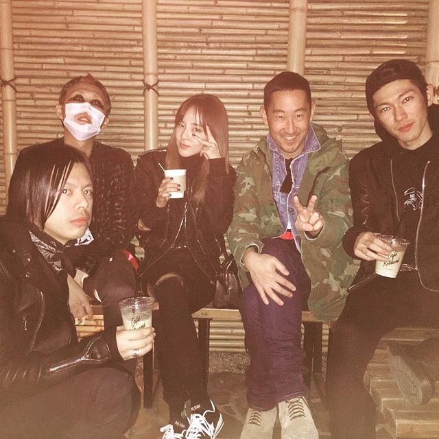 .@krungy21 stopped by our Tokyo #cafekitsune with her friends! Come by too: https://t.co/Igna6FGHrS https://t.co/dgZfnt9ydE