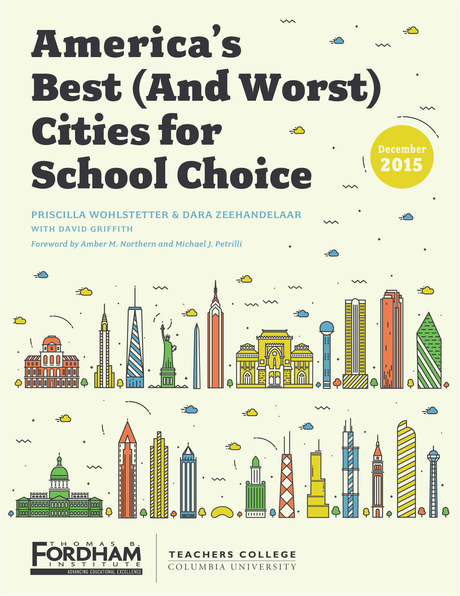 NEW from Fordham: America's Best (and Worst) Cities for School Choice | Read it now: https://t.co/pyw9cpyx85 https://t.co/L0yb1Bx0qz