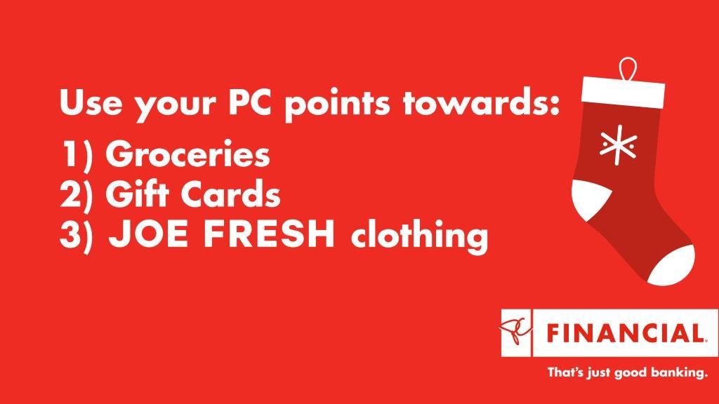 Remember to use your PC points this holiday season! #PCPointer https://t.co/eqDoZgdrYk