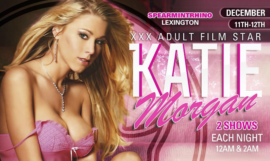Look out Kentucky! This weekend the party is at Spearmint Rhino in Lexington, two shows Friday and Saturday
