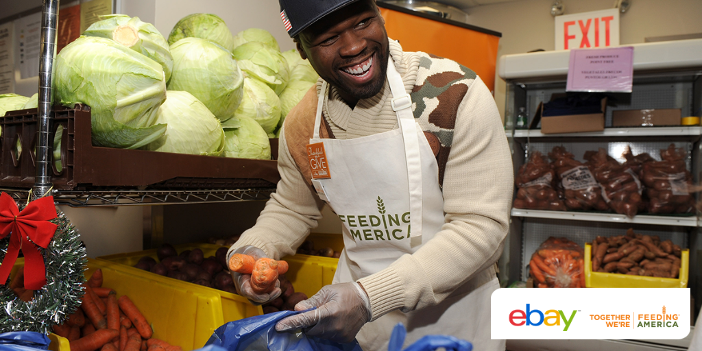 RT @FeedingAmerica: Check out what @50Cent is doing to benefit @FeedingAmerica for the holidays on @eBay: https://t.co/bYG056KtNm https://t…