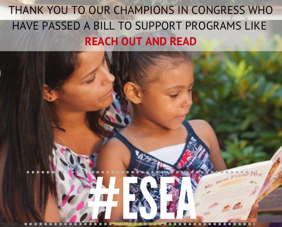 Thanks to our champions @SenJackReed @ChuckGrassley @RepMcGovern @SenWarren and @RepKClark for passing #ESEA! #ece https://t.co/D7rrtdLVnQ