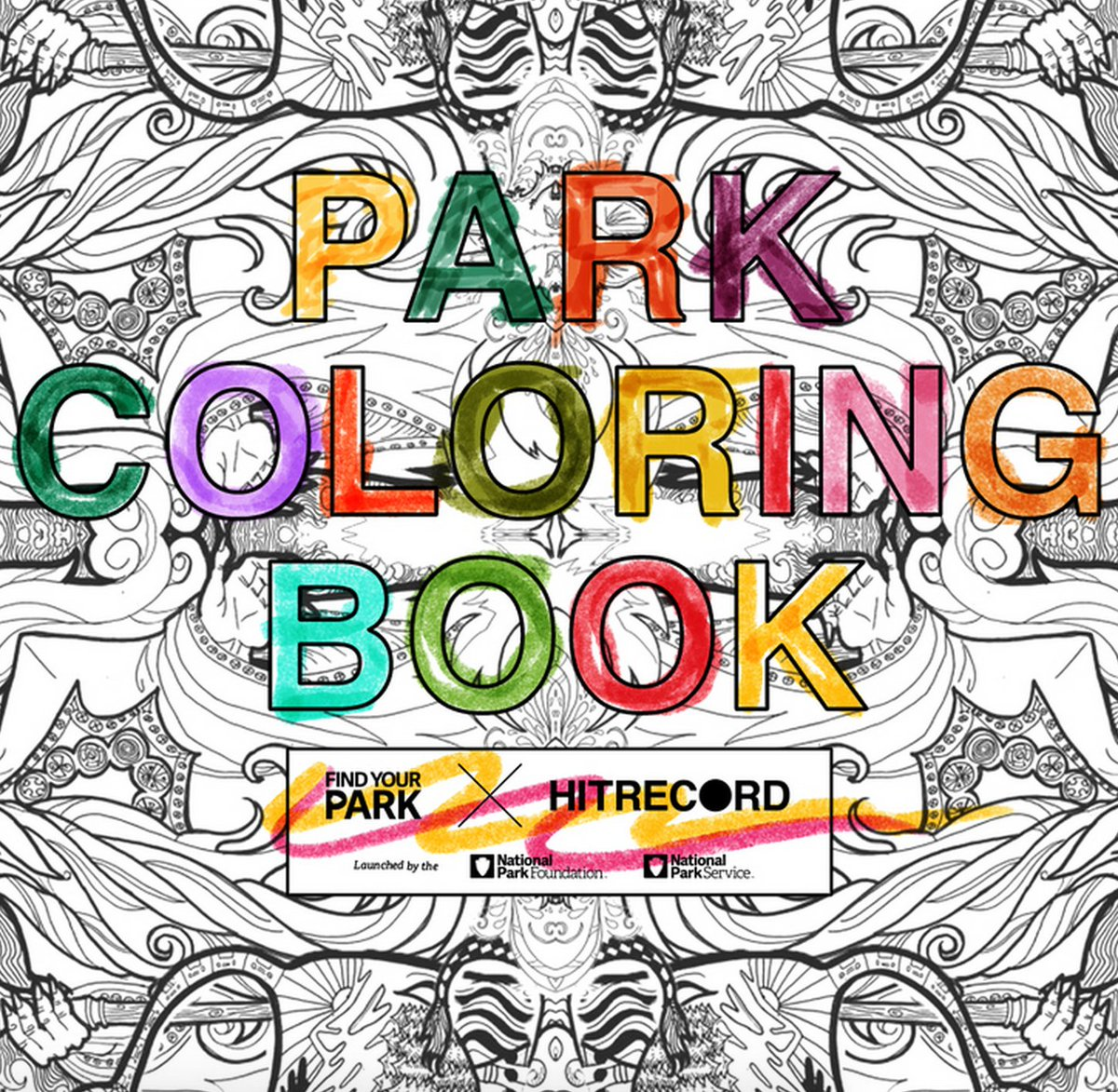 RT @hitRECord Here's a new #FindYourPark coloring book request for visual artists. Check it: https://t.co/Yw69h2UKa2 https://t.co/29gjgafFuX