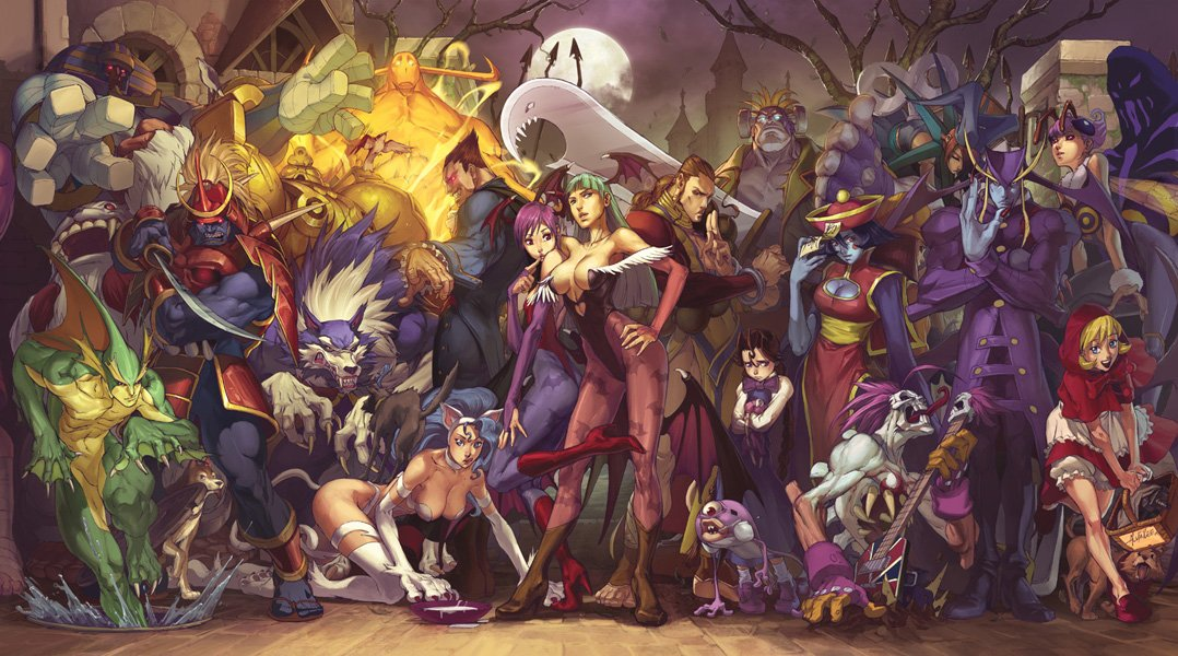 Darkstalkers par alvinlee https://t.co/RPO7k49Kzc