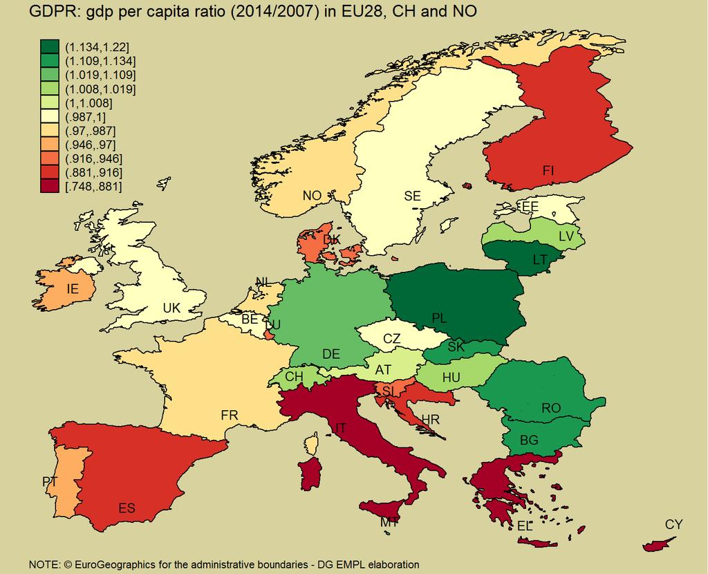 2007-2014: najwyższy wzrost PKB per capita w UE:  Polska +22% Litwa +14,2% Słowacja +13,4%  https://t.co/O6oDtsd6JB https://t.co/6VwKNhm3Xy