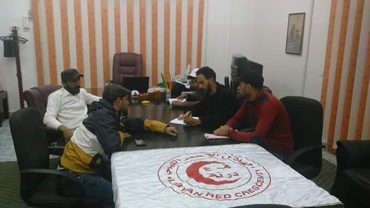 #ليبيا_الآن شبيبة الهلال الأحمر في درنة ،تؤهل مجموعة مراهقين على العمل التطوعي ضمن فرقة #رسل الخير https://t.co/yPbkQpXaAI