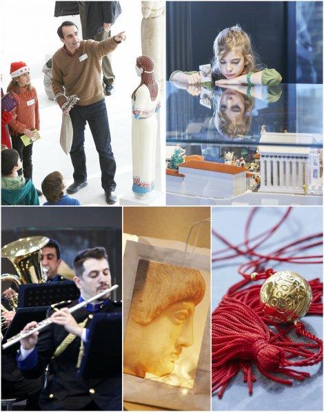 """Οn Sunday 27/12 the Acropolis Museum """"celebrates"""" Christmas with a series of events!"""