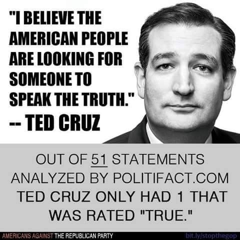 This is for those Cruzing for a bruising.  Ted's a liar. https://t.co/LtTrWCjQpd