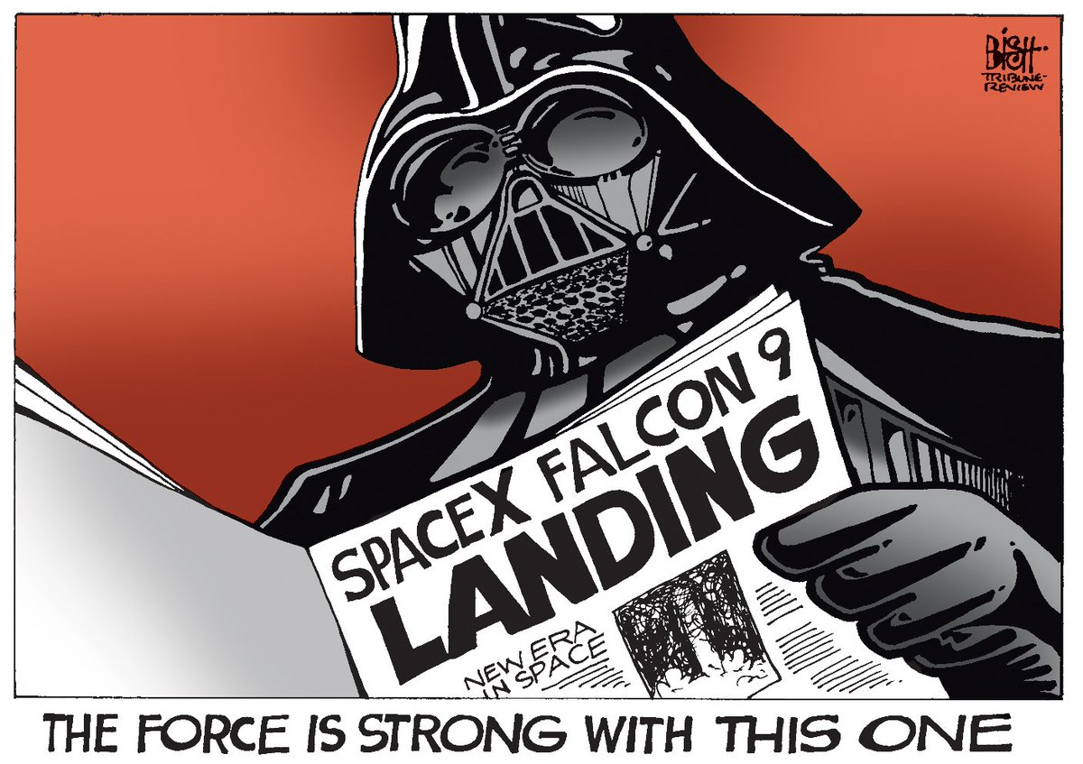 cartoon: #spacex boldly going. #space - scoopnest