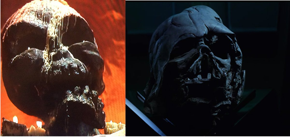 Creepy head from Temple Of Doom (left) & The Force Awakens (from trailer!) (right). Even the same jaunty angle…. https://t.co/eNnruOPP0v