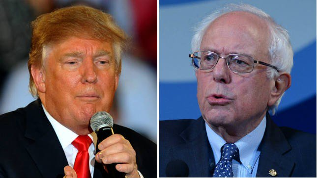 """In blockbuster poll, Sanders destroys Trump by 13 points"" https://t.co/vnAZYrr8i8 https://t.co/DzJGIAlYOR"
