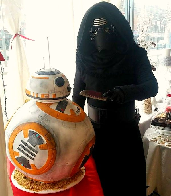 This BB-8 Cake Is Life-Sized!  https://t.co/4msu7Boope via @T_Nerdalicious   He's made by @CakesCove & sounds delish https://t.co/WJoQjEwbp8