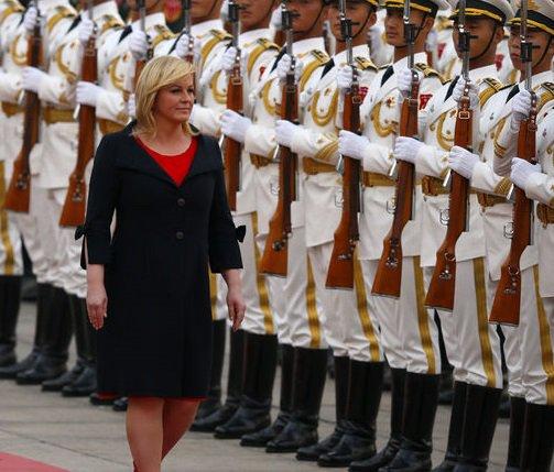 #opinadd circulan fotos de la presidenta de croacia ...