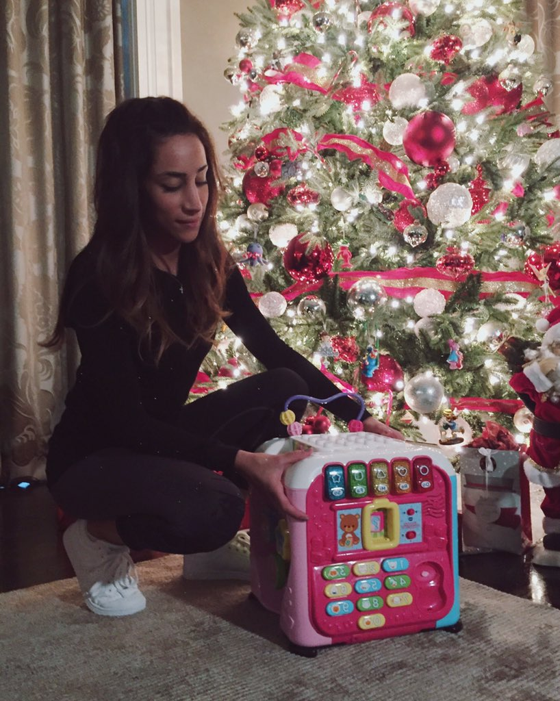 Found the perfect present for Alena this year! Thanks https://t.co/y4WwZonvTJ ��#WishBigger #collab https://t.co/K3AokXMC5p