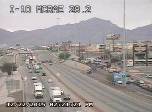 Txdot cameras showing all westbound traffic on i-10 is exiting on ...