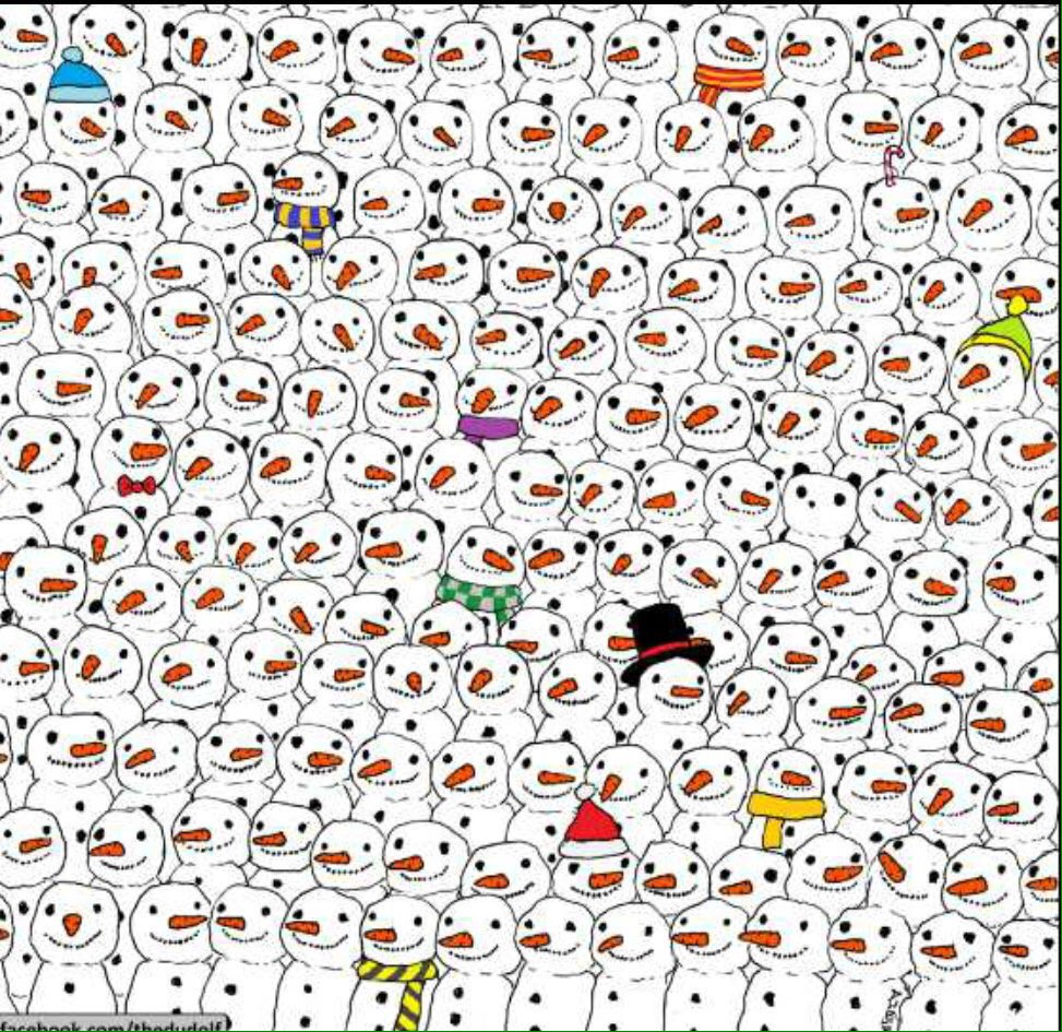 I'm a sucker for a good seek & find, and this is a good one. Can you find the panda?