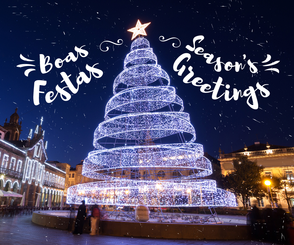 Boas Festas | Season's Greetings #Portugal #BoasFestas #SeasonsGreetings https://t.co/rJrGdSeCTR