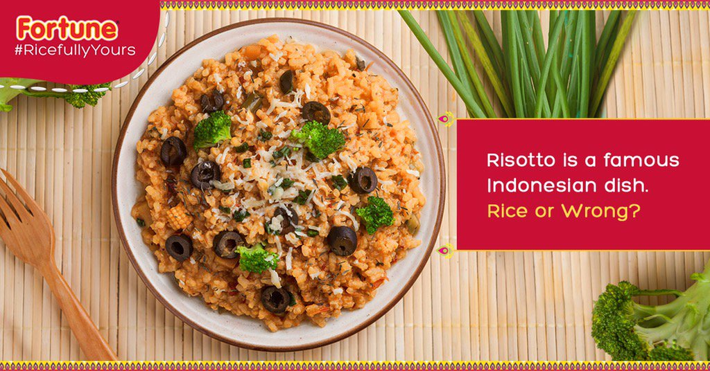 Last question from me! Let's go international on this. Tweet your answers tagging @FortuneFoods #RicefullyYours https://t.co/FfN4Ewikul