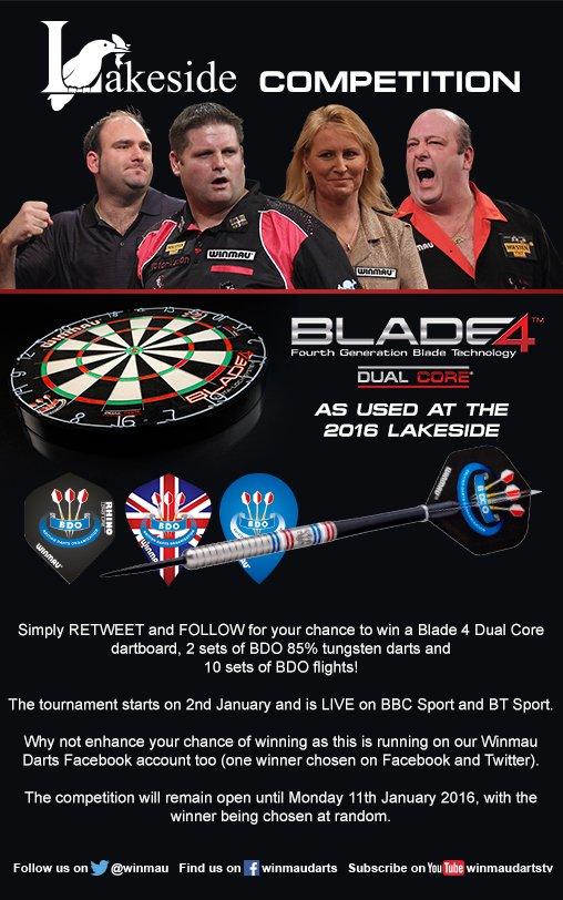 A Lakeside darts competition for the festive period! @BDOdarts @BBCSport @btsport @LakesideSurrey #HOHOHO :-) https://t.co/uvjSt5YYXs