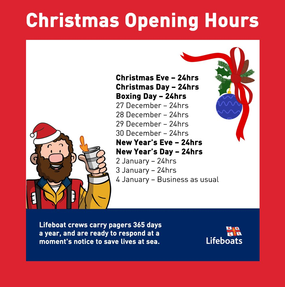A reminder of our festive opening hours: https://t.co/SLCHTQxWgu