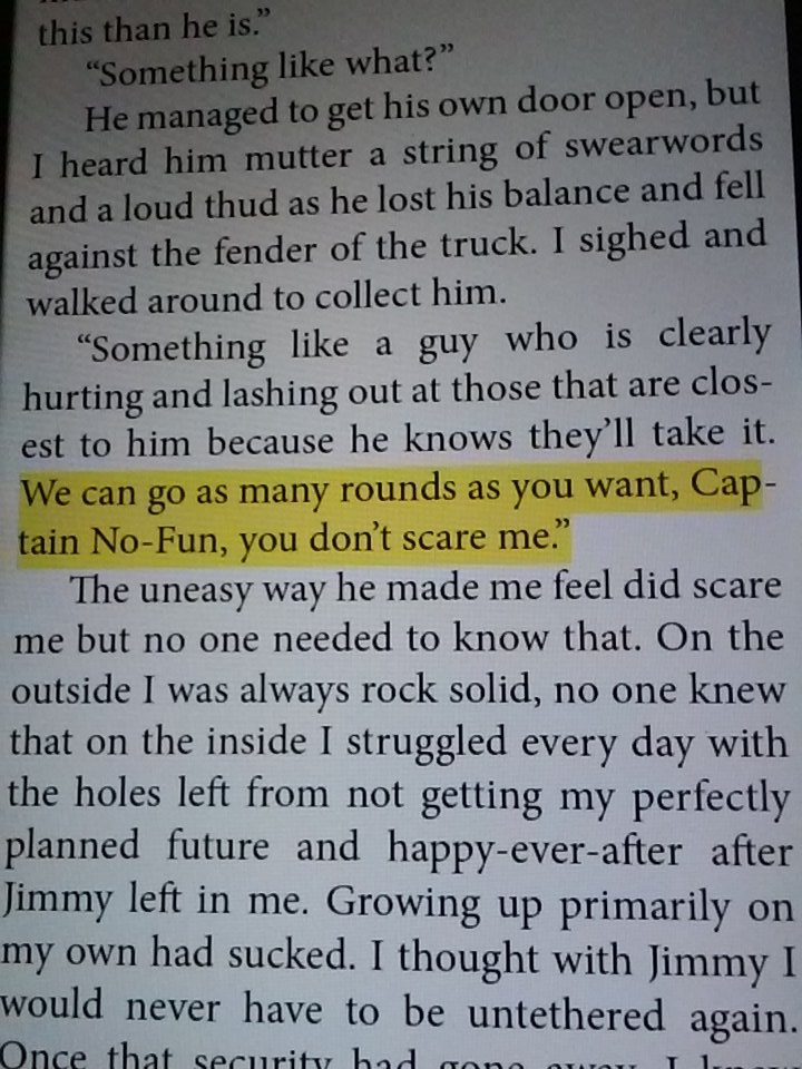 Every time Tink calls Rome this...I giggle. #amreading    Captain No-Fun ... :D https://t.co/EFlTnGqGpc