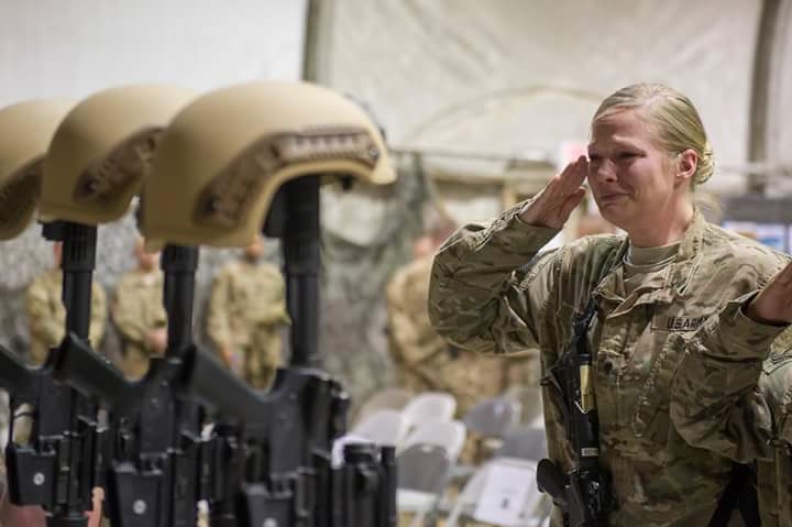 A tearful goodbye for six airmen killed in Monday's suicide attack. Photo from Bagram by Tech Sgt. Robert Cloys. https://t.co/8Qu6QbgEjL