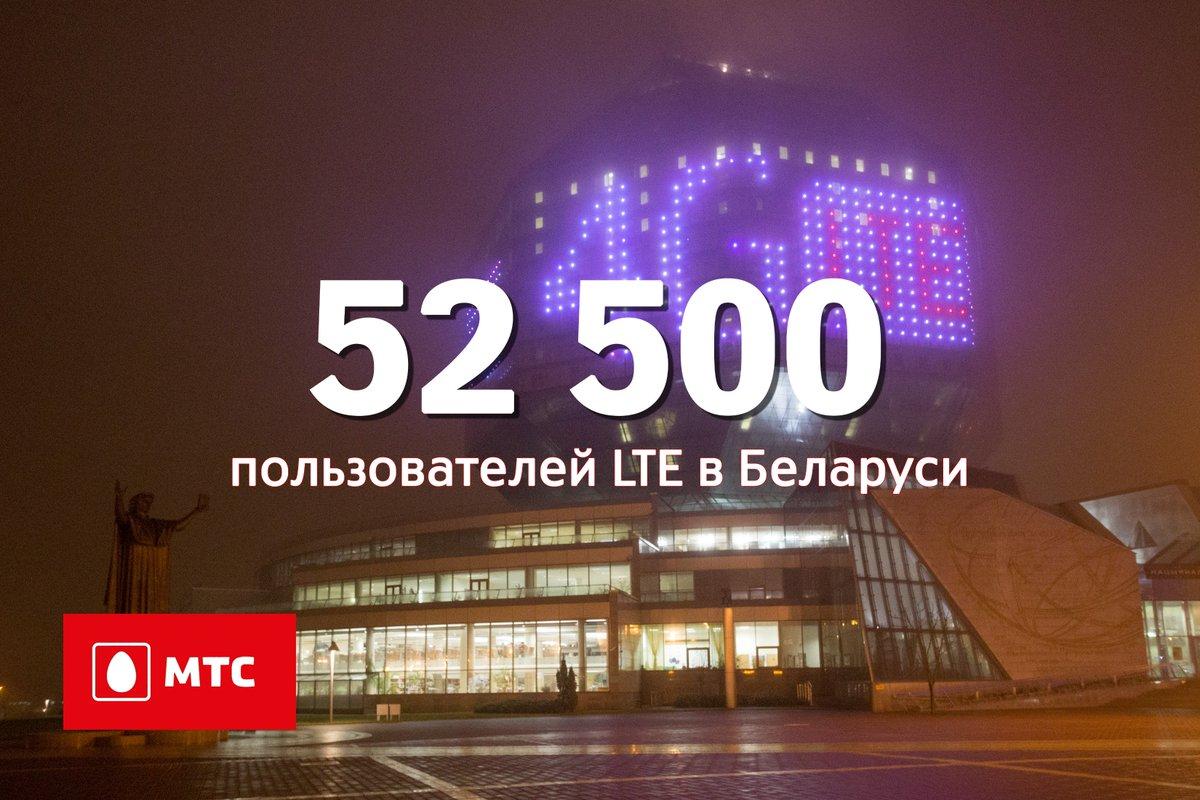 Первая статистика по 4G: 21,5 миллиона мегабайт трафика за 5 суток