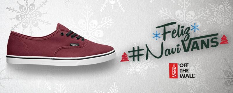 CONCURSO: Dale RT , aplica #NaviVans y escribe por qué tienes que llevarte nuestras #VansAuthentic en esta navidad. https://t.co/1f1WhxmErY