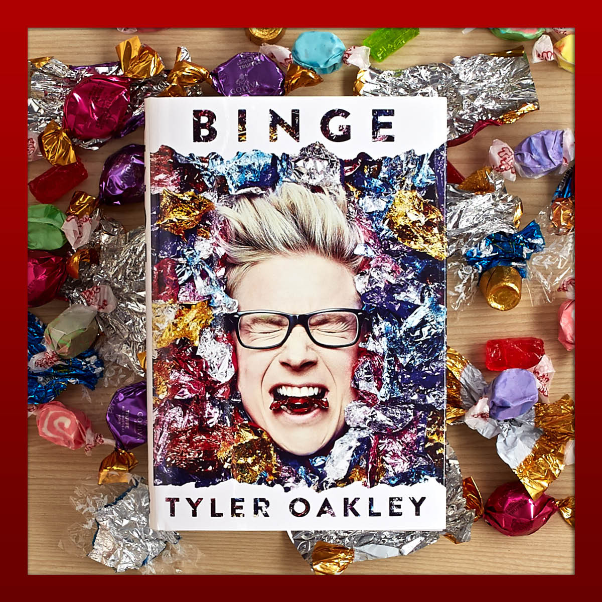 This might just be the funniest book they'll read all year #BNGiftRec @tyleroakley https://t.co/Nhky7qFMiX https://t.co/f3UaI4b1p0