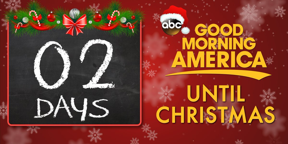Two more days until christmas!