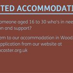 Please spread the word about our supported accommodation for young people in #doncasterisgreat #ilovedn https://t.co/APdoOaeZ1p